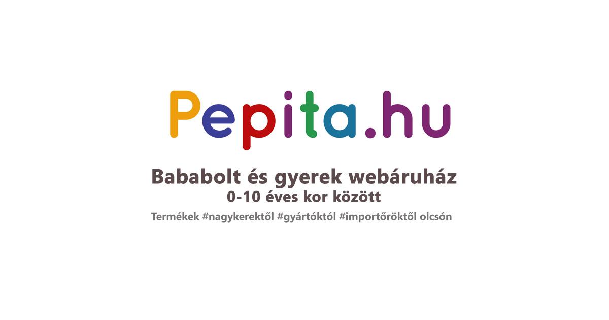 66fd85e7e1 Bababolt és gyerek webáruház 0-10 éves kor között - 99.689 termék |  Pepita.hu